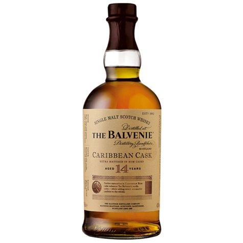 The Balvenie Caribbean Cask 14 Year Old Single Malt Whisky (750 ml)