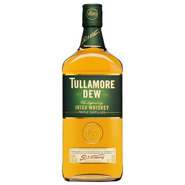 Tullamore D.E.W. Irish Whiskey (750 ml)