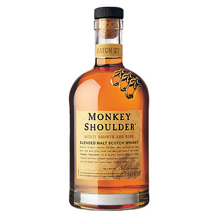 Monkey Shoulder Blended Malt Scotch Whisky (750 ml)