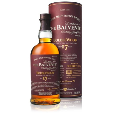 The Balvenie DoubleWood 17 Year Old Malt Whisky (750 ml)