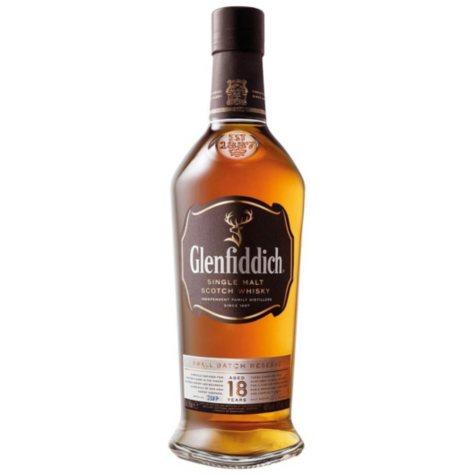 Glenfiddich 18 Year Single Malt Scotch Whisky (750 ml)