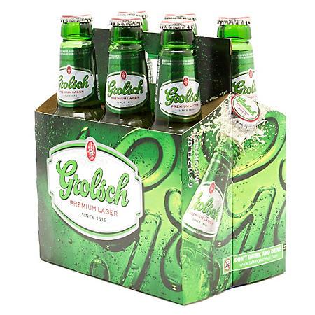 Grolsch Premium Lager (12 oz. bottles, 6 pk.)