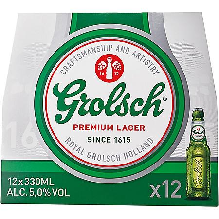 Grolsch Premium Lager (12 fl. oz. bottle, 12 pk.)