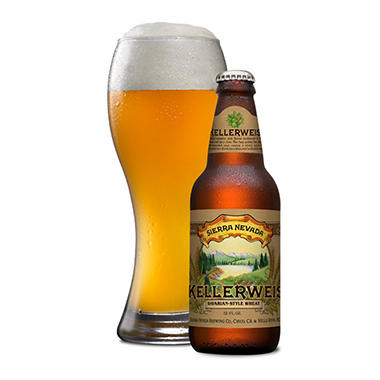 Sierra Nevada Kellerweis (12 fl. oz. bottle, 6 pk.)