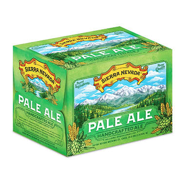 SIERRA NEV PALE ALE 12 / 12 OZ BOTTLES