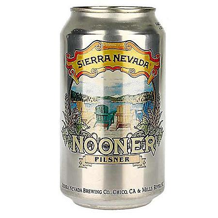 Sierra Nevada Nooner Pilsner Beer (12 fl. oz. can, 12 pk.)