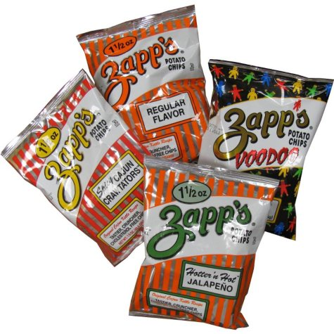 Zapp's Kettle Cooked Chips, Variety Pack (1.5 oz., 25 ct.)