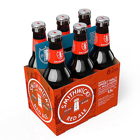 SMITHWICKS IRISH ALE 6 / 12 OZ BOTTLES