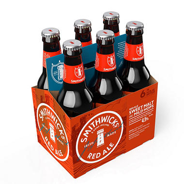 SMITHWICKS IRISH 6 / 12 OZ BOTTLES