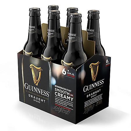 Guinness Draught Beer (11.2 fl. oz. bottle, 6 pk.)