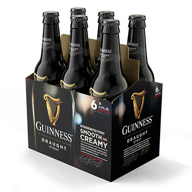Guinness Draught Import Beer (11.2 fl. oz. bottle, 6 pk.)