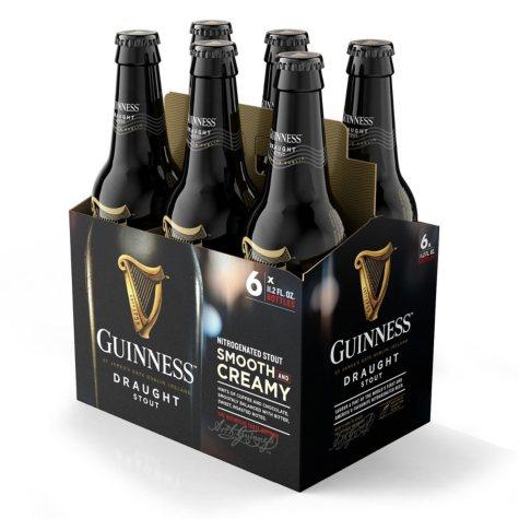 Guinness Draught Import Beer (11.2 fl. oz. bottle, 6 pk.)
