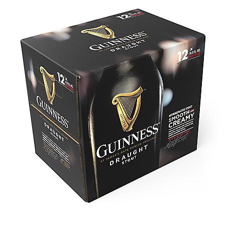 Guinness Draught Import Beer (11.2 fl. oz. bottle, 12 pk.)