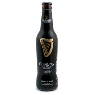 Guinness Draught Beer (11.2 fl. oz. bottle, 12 pk.)