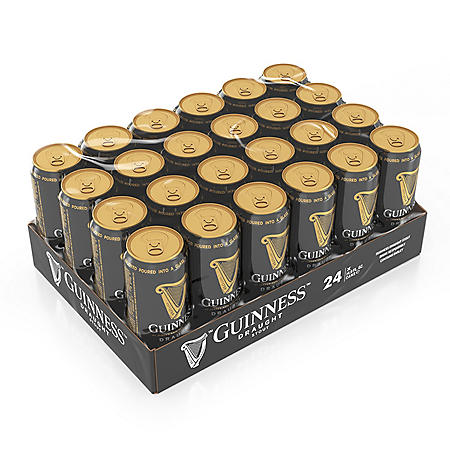 GUINNESS DRAUGHT 24 / 14.9 OZ CANS