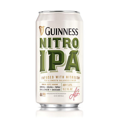 Guinness Nitro IPA Import Beer (11.2 fl. oz. can, 6 pk.)