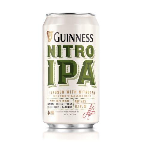 Guinness Nitro IPA Import Beer (11.2 fl. oz. can, 6 pk.)