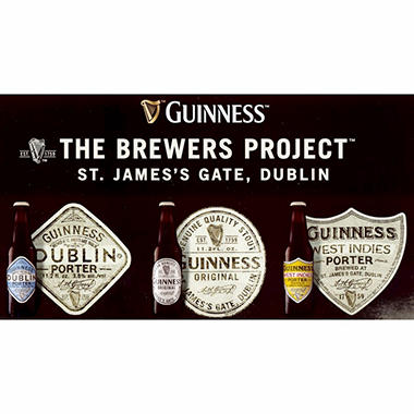 Guinness The Brewers Project Import Beer (11.2 fl. oz. bottle, 18 pk.)