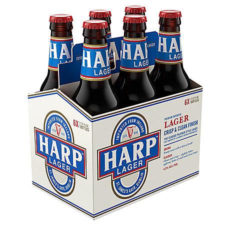 HARP LAGER 6 / 12 OZ BOTTLES