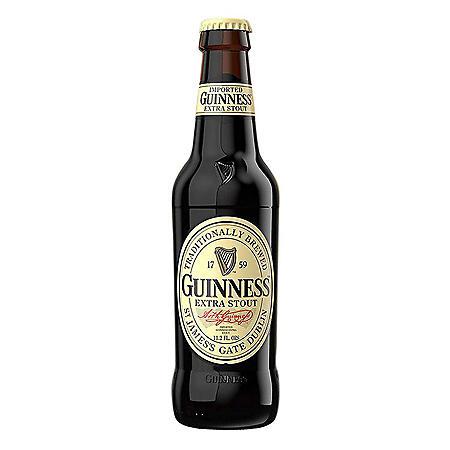 Guinness Extra Stout Beer (11.2 fl. oz. bottle, 24 pk.)