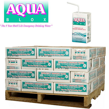 Aqua Blox Emergency Water - 2176 ct. - 6.75 oz. ( 68 cs.)