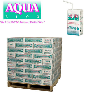 Aqua Blox Emergency Water - 3808 ct. - 6.75 oz. ( 119 cases)