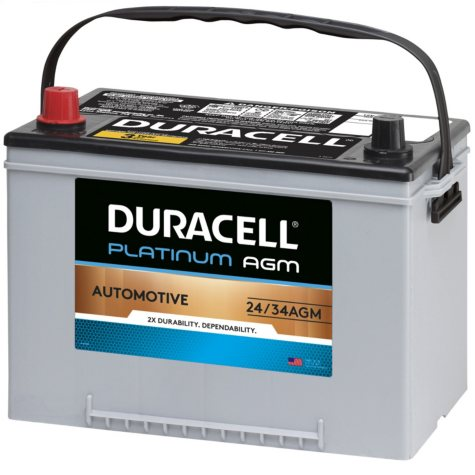 Duracell AGM Automotive Battery - Group Size 34