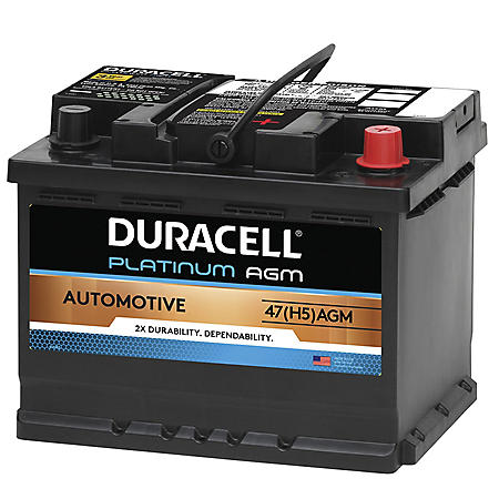Duracell AGM Automotive Battery - Group Size 47 (H5)