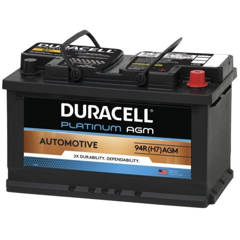 Duracell AGM Automotive Battery - Group Size 94R (H7)