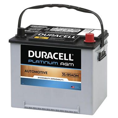 duracell agm automotive battery group size 35 85 sam 39 s club. Black Bedroom Furniture Sets. Home Design Ideas