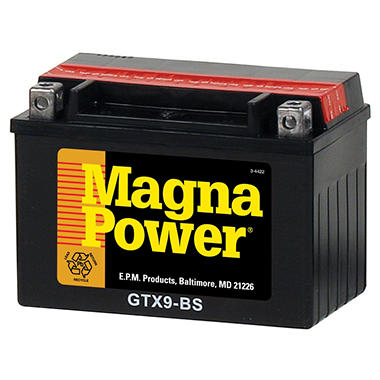 Magna Power Power Sports Battery - Group Size 9BS