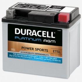 Duracell AGM Powersport Battery - ET5L