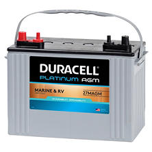 Duracell AGM Marine Battery - Group Size 27M