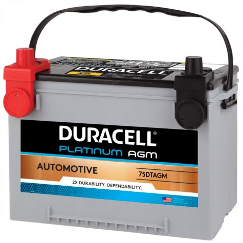 Duracell AGM Automotive Battery - Group Size 75/86