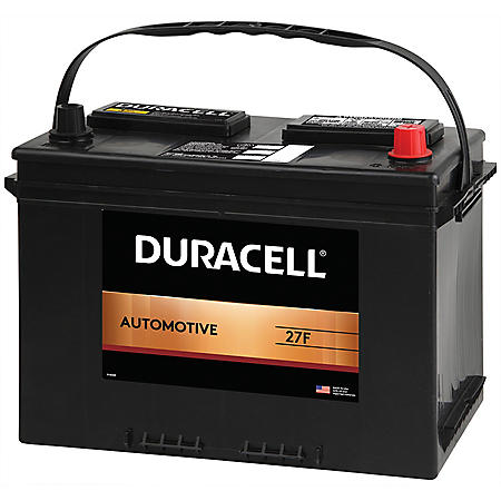 Duracell Automotive Battery - Group Size 27F