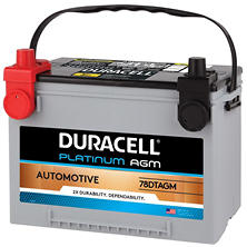 Duracell AGM Automotive Battery - Group Size 34/78