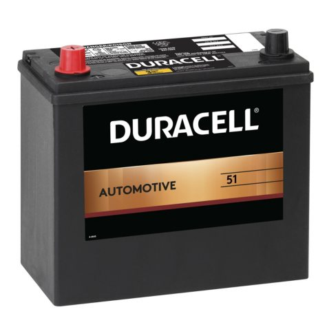 Duracell Automotive Battery - Group Size 51