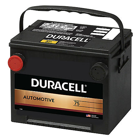 Duracell Automotive Battery - Group Size 75