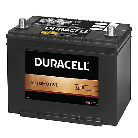 Duracell Automotive Battery - Group Size 124R