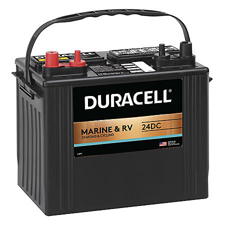 Duracell Marine Dual Purpose Battery – Group size 24