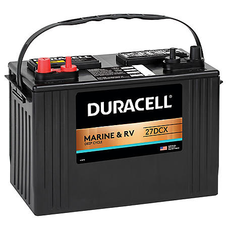 Duracell Marine Deep Cycle Battery – Group size 27