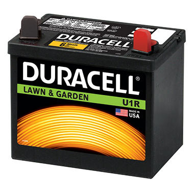 Duracell Lawn & Garden Battery - Group Size U1R