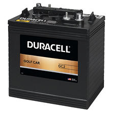 Duracell Golf Car Battery - Group Size GC2