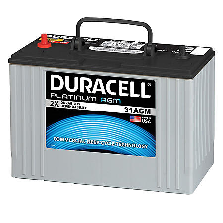 Duracell Heavy Duty Agm Truck Battery Group Size 31agm By