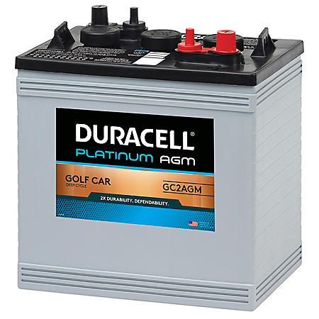 duracell agm golf car battery group size gc2 sam 39 s club. Black Bedroom Furniture Sets. Home Design Ideas