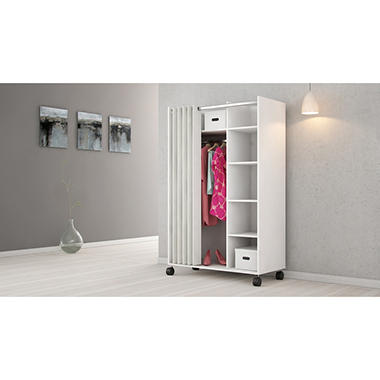 D-Scan Mobile Wardrobe Storage Cabinet