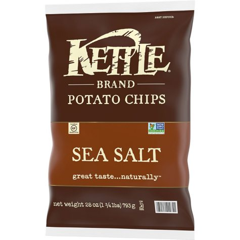 Kettle Brand Sea Salt Potato Chips (28 oz.)