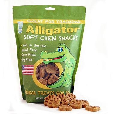 think!dog Alligator Jerky Dog Treats (42 oz.)