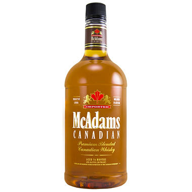 McAdams Blended Canadian Whisky (1.75 L)