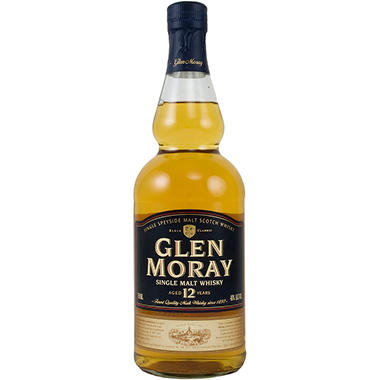 Glen Moray 12 Year Old Single Malt Scotch Whisky (750ML)